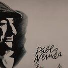 Mural Of Nobel Laureate Poet Pablo Neruda by Al Bourassa