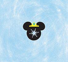 Elsa Mickey Head by kjtgp1
