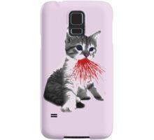 Fire Kitten Miaow Samsung Galaxy Case/Skin