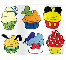 Fab Cupcakes Poster