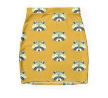 Geometric Raccoon Pencil Skirt