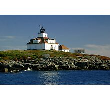 Egg Rock Lighthouse Photographic Print