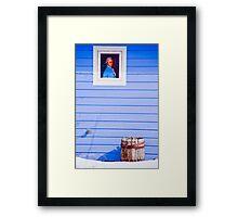 Patriot Blue Framed Print