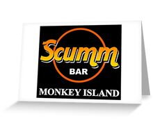 Scumm Bar  Greeting Card