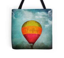 Up up and away - Freiflug Tote Bag