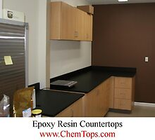 Epoxy Resin Countertop by Joey Clyburn