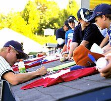 Mat Latos, making the big leagues... by Allan  Erickson