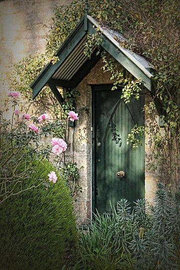 Green Door by Barb Leopold