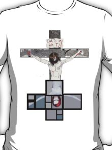 God is in the TV T-Shirt