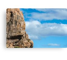 Cloud and Rock Canvas Print