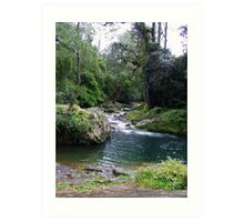 Serenity at Lady's Well Art Print