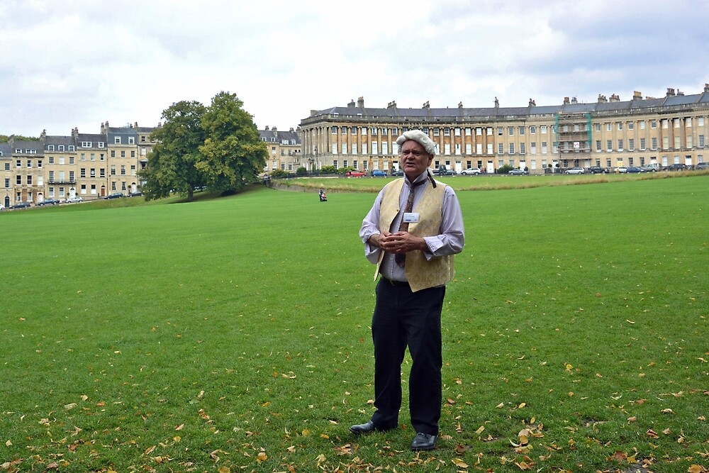 Local guide in Bath - England by Arie Koene