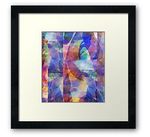Abstract Composition – April 10, 2010  Framed Print
