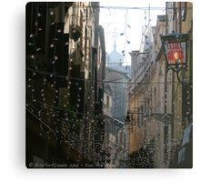 You Are Here - Venice in Christmas time Metal Print