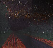 Night Road by MerrilynW