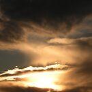 Retreating Sundown Storm by Majic