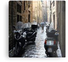 Subito! - Florence, Italy Metal Print
