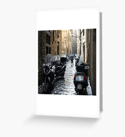 Subito! - Florence, Italy Greeting Card