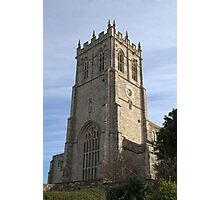 Christchurch Priory Bell Tower Photographic Print