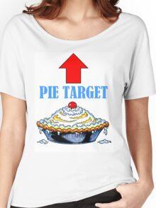 PIE TARGET shirt Women's Relaxed Fit T-Shirt