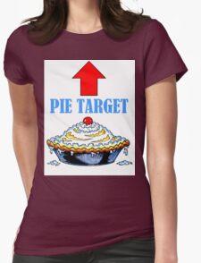 PIE TARGET shirt Womens Fitted T-Shirt