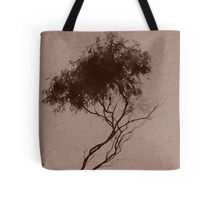 dolores's tree in sepia Tote Bag
