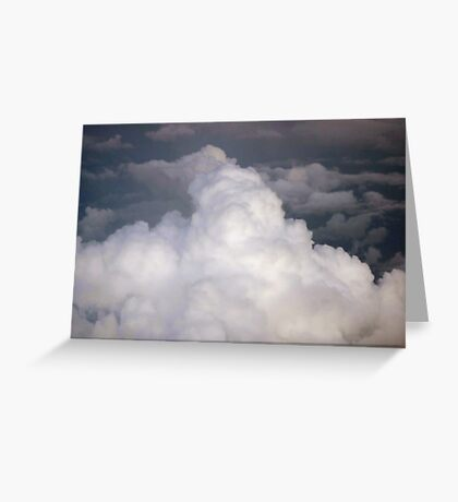 Above us only sky. Greeting Card