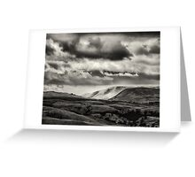 Across the edge of the Dales Greeting Card