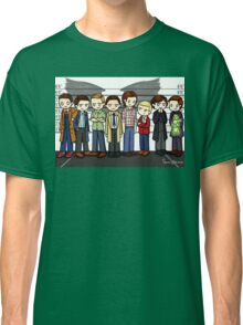 SuperWhoLock Lineup Classic T-Shirt
