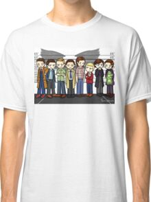 SuperWhoLock Lineup Classic T-Shirt