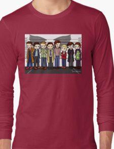SuperWhoLock Lineup Long Sleeve T-Shirt