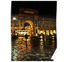 Piazza della Repubblica, Florence, Italy Poster