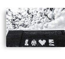 LOVE ABOVE ALL Canvas Print