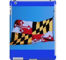 Maryland State Flag iPad Case/Skin