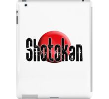Shotokan, Karate, Japan, Japanese, Funakoshi, Empty Hand, Fighting Art, Japan & Okinawa iPad Case/Skin