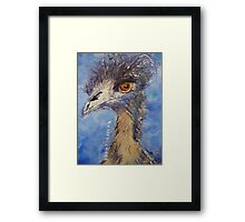 Emu - Got My Eye On You! Framed Print