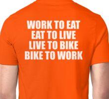 Live To Bike T Shirt Unisex T-Shirt