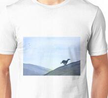 Running Greyhound Whippet Lurcher Unisex T-Shirt