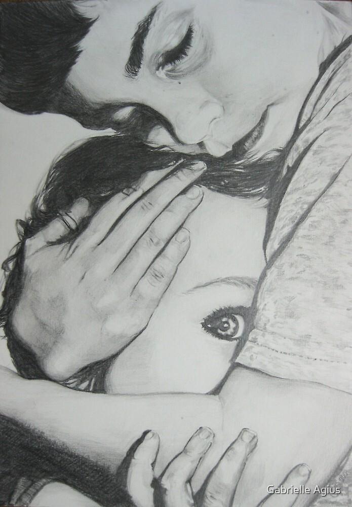 the hug by Gabrielle Agius
