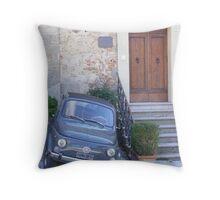 Fiat 500 Throw Pillow