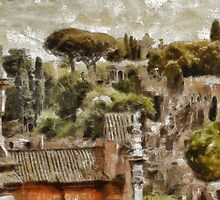 Rome by Pierre Blanchard by esotericaart