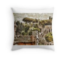 Rome by Pierre Blanchard Throw Pillow