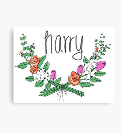 Harry Bouquet Canvas Print
