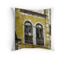 Windows by Pierre Blanchard Throw Pillow