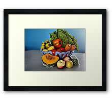 All Things Healthy 2 Framed Print