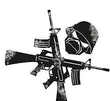 Iron Maiden Eddie Guns by Bourne23a