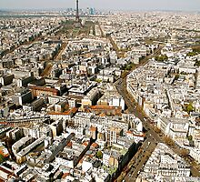 Paris from Above by Louise Fahy