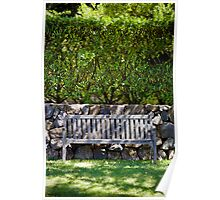 Just a bench. Poster