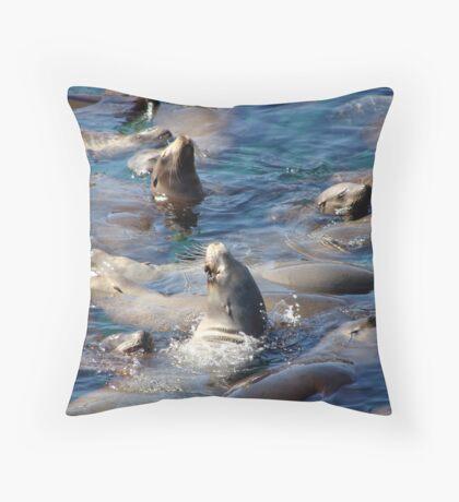 Navy Seals Throw Pillow