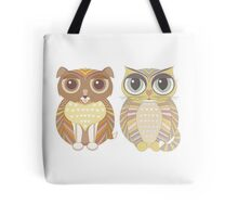 Friendly Dog and Big-Eyed Cat Tote Bag